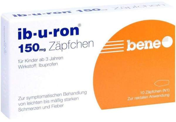 Ib U Ron 150 mg 10 Suppositorien