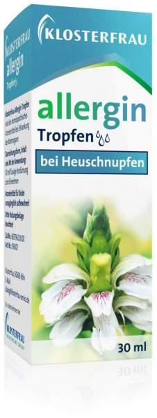 Klosterfrau allergin 30 ml Tropfen bei Heuschnupfen