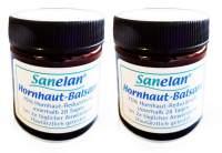 Hornhaut Balsam Sanelan Best Age Duo-Set 2 x 30 ml