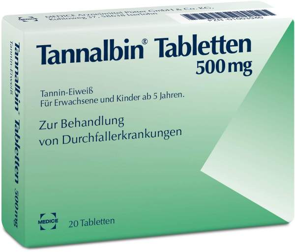 Tannalbin 20 Tabletten