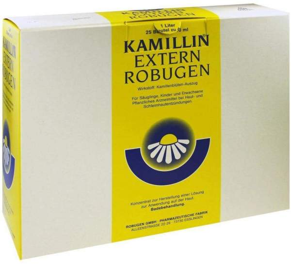 Kamillin Extern Robugen 25 X 40 ml Lösung