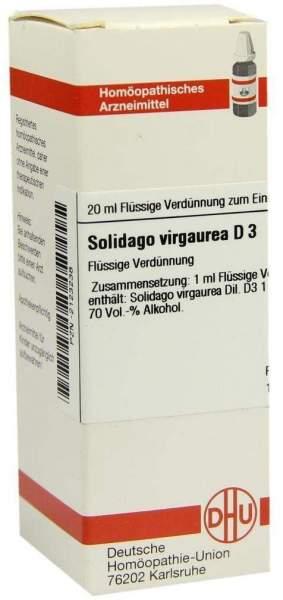 Solidago Virgaurea D3 Dilution 20 ml Dilution