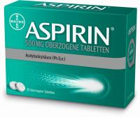 Aspirin 500mg überzogene 20 Tabletten