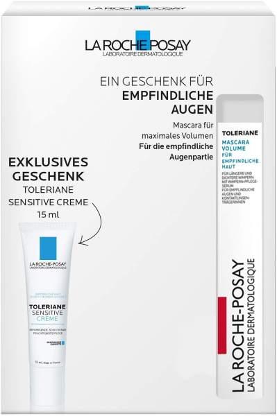 La Roche Posay Toleriane Mascara Volume 6,9 ml + gratis Toleriane Sensitive Mini 15 ml