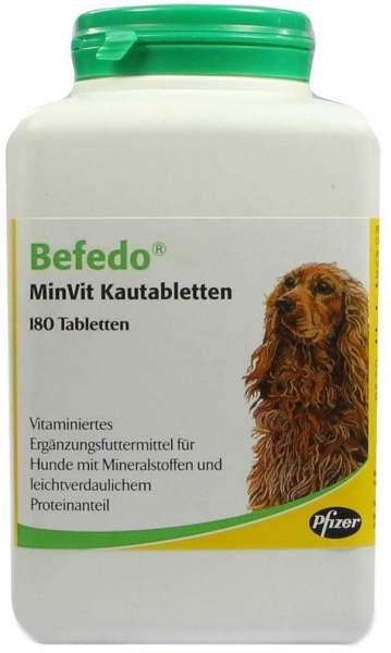 Befedo Minvit Kautabletten Für Hunde 180 Kautabletten