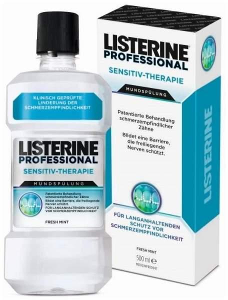 Listerine Professional Sensitiv-Therapie Mundspüllösung 500 ml