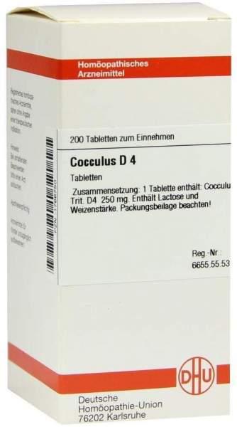 Cocculus D 4 200 Tabletten