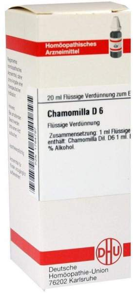 Chamomilla D 6 20 ml Dilution