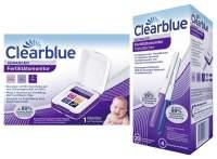 Sparset Clearblue Advanced Fertilitätsmonitor + Clearblue Fertilitätsmonitor Teststäbchen 20Stück
