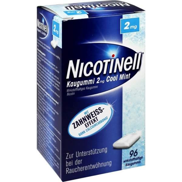 Nicotinell Kaugummi 2mg Cool Mint 96 Kaugummis