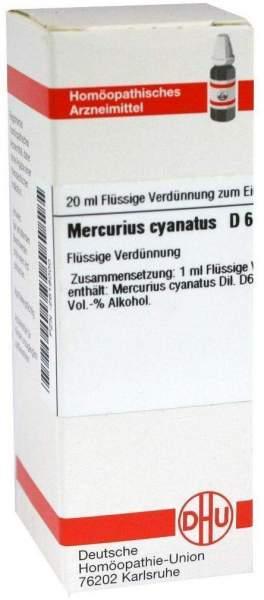 Mercurius Cyanatus D 6 Dilution