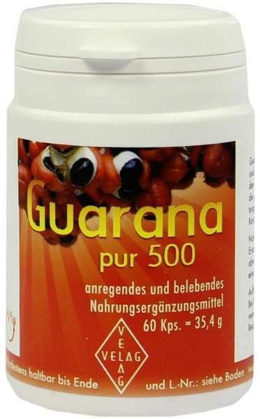 Guarana Pur 500 60 Kapseln