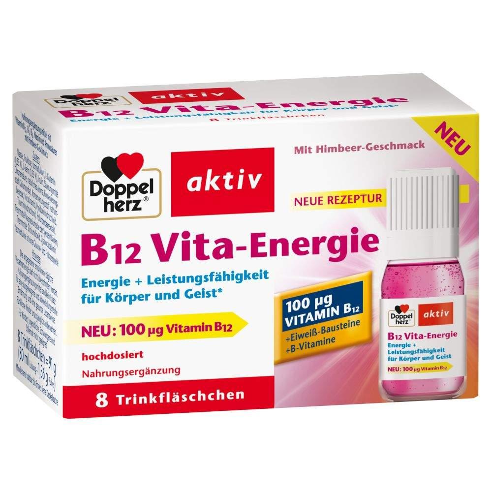 Doppelherz B12 Vita-Energie 8 Trinkampullen