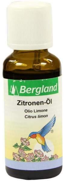 Zitronen Öl Bergland 30 ml Öl