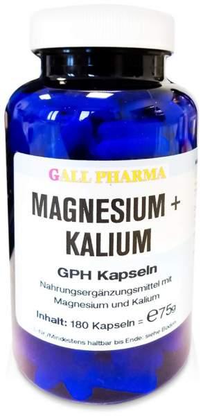 Magnesium + Kalium Gph 180 Kapseln