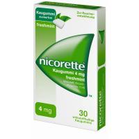 Nicorette 4 mg freshmint Kaugummi 30 Stück