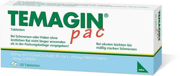 Temagin PAC Tabletten 20 Tabletten
