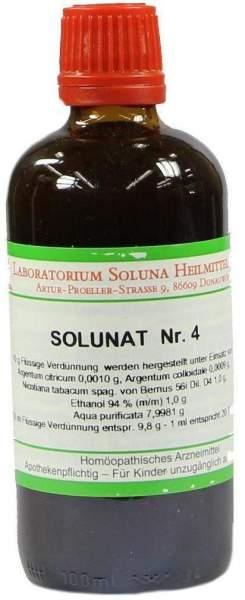 Solunat Nr.4 100 ml Tropfen