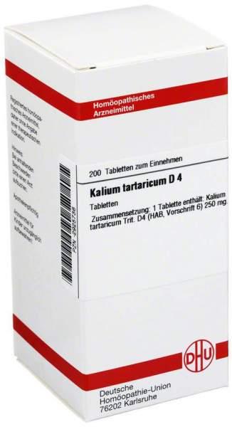 Kalium Tartaricum D 4 Tabletten