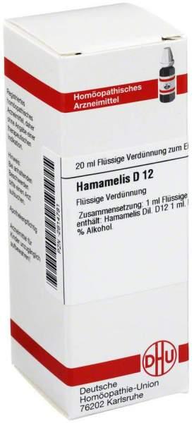 Hamamelis D 12 Dilution