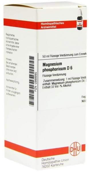Magnesium Phosphoricum D 6 50 ml Dilution