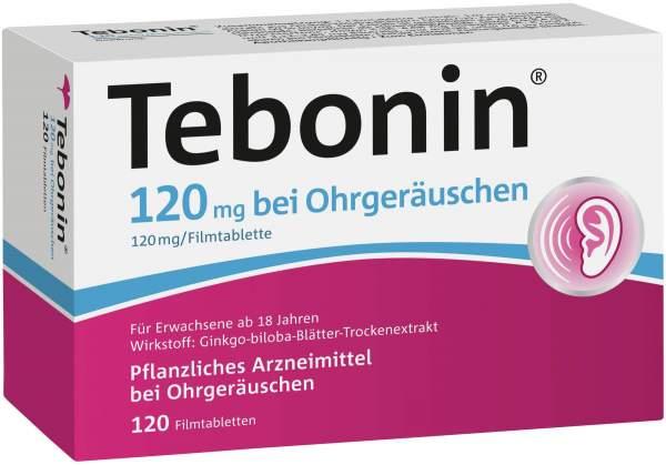 Tebonin 120 mg bei Ohrgeräuschen 120 Filmtabletten