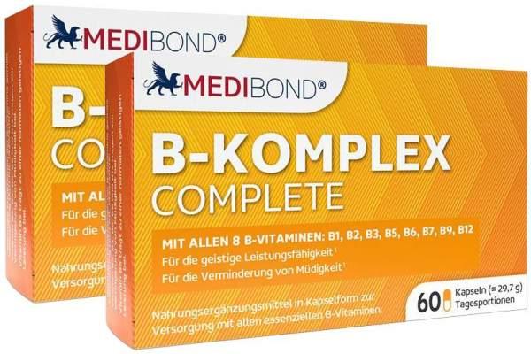 B-Komplex Complete Medibond 2 x 60 Kapseln
