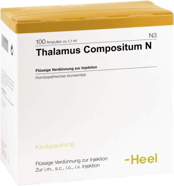 Thalamus Compositum N Ampullen 50 Stück