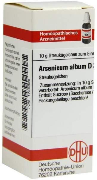 Arsenicum Album D30 Dhu 10 G Globuli