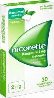 Nicorette 2 mg Freshmint Kaugummi 30 Kaugummis
