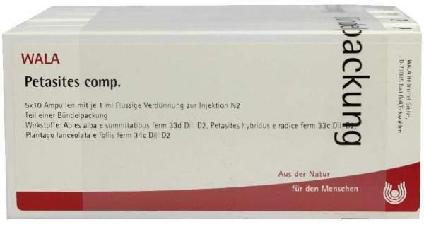 Petasites Comp. Ampullen 50 X 1 ml