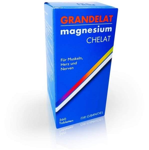 Grandelat Mag 60 Magnesium 360 Tabletten