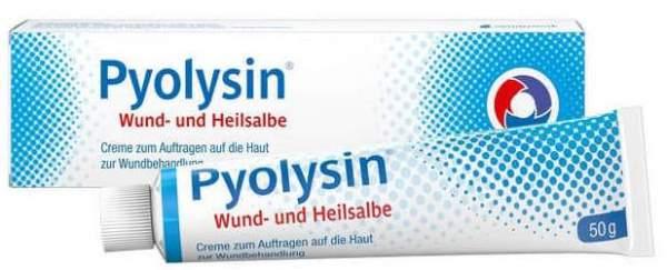 Pyolysin 50 g Wund- und Heilsalbe
