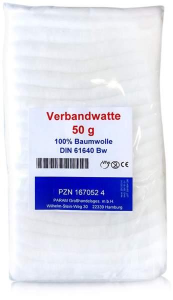 Verbandwatte 100% Bw 50 G Beutel