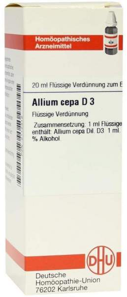 Dhu Allium Cepa D3 Dilution