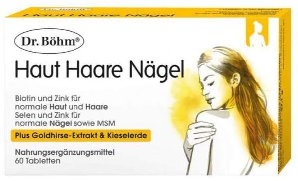 Dr. Böhm Haut Haare Nägel 60 Tabletten