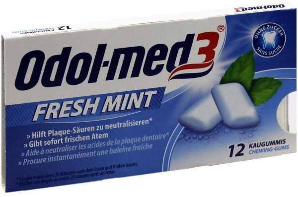 Odol Med 3 Fresh Mint 12 Kaugummis