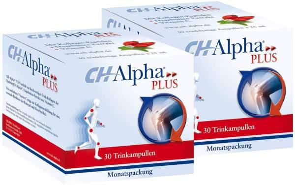 CH Alpha Plus 2 x 30 Trinkampullen