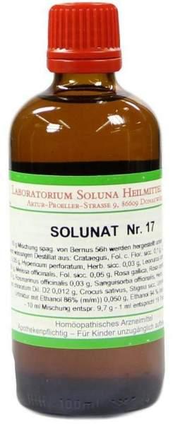 Solunat Nr. 17 Tropfen 100 ml Tropfen