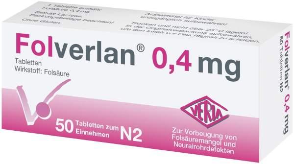 Folverlan 0,4 mg Tabletten 50 Tabletten