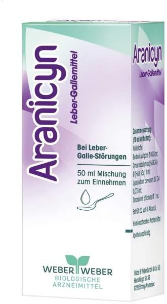 Aranicyn Leber Gallemittel 50 ml Tropfen
