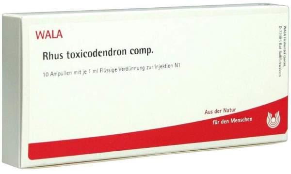 Rhus Tox. Comp. Ampullen 10 X 1 ml