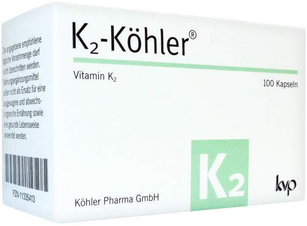 K2 Köhler 100 Kapseln