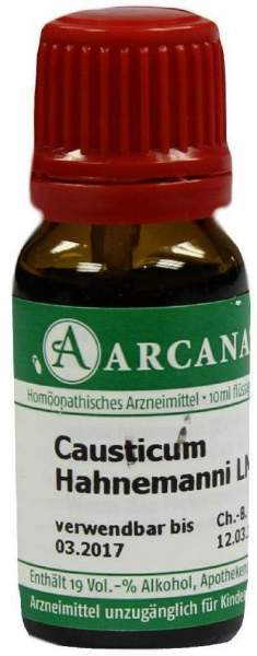 Causticum Arcana Lm 6 Dilution 10 ml