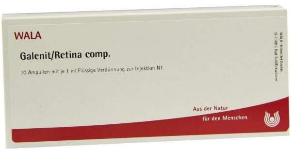 Galenit Retina Comp. Ampullen 10 X 1 ml
