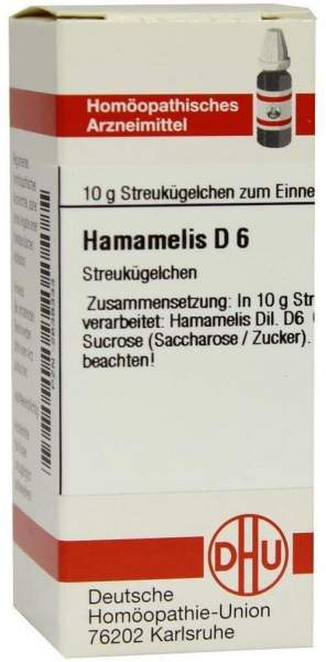 Hamamelis D 6 10 G Globuli