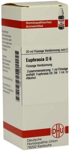 Dhu Euphrasia D6 20 ml Dilution