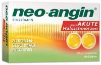 Neo angin Benzydamin Zitrone 20 Lutschtabletten