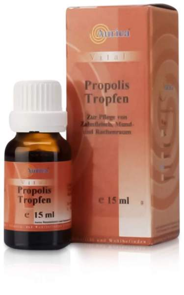 propolis tropfen aurica 15 ml kaufen volksversand versandapotheke. Black Bedroom Furniture Sets. Home Design Ideas