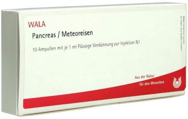 Wala Pancreas Meteoreisen 10 X 1 ml